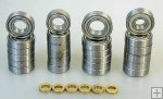 305228, Ball bearings Carson / Smartech 4x4, set
