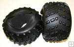 1/5 truck tires with insert for smartech titan carson gas devil